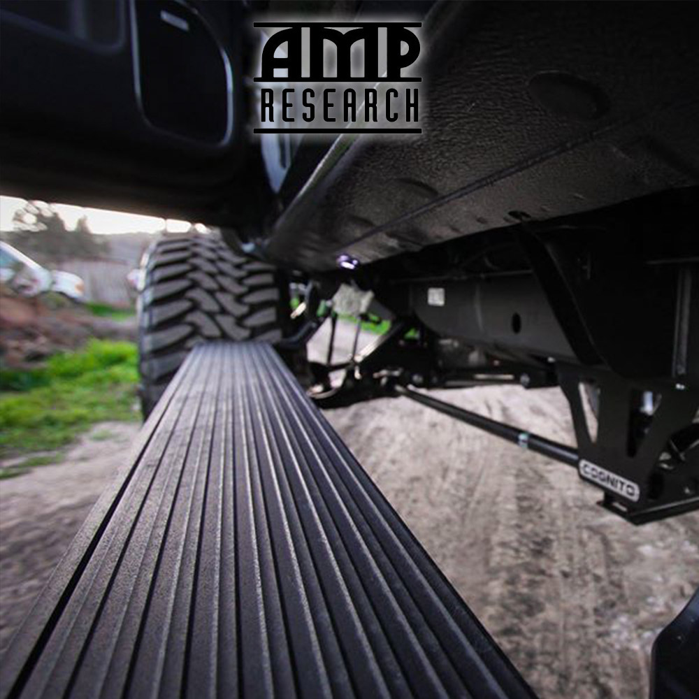 AMP Research 74811-01A Bed Extender For 98-17 Nissan Frontier Standard Bed Black