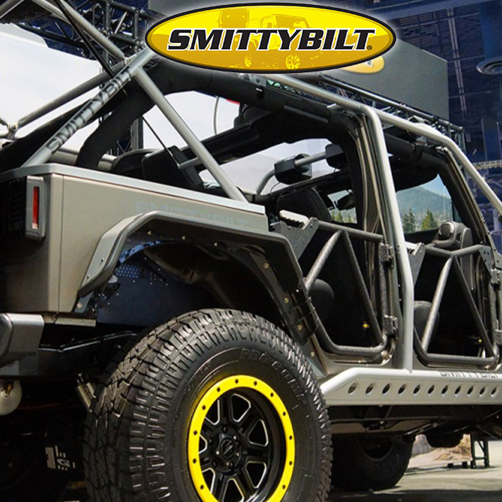 Smittybilt 7508 Chrome Gas Filler Housing