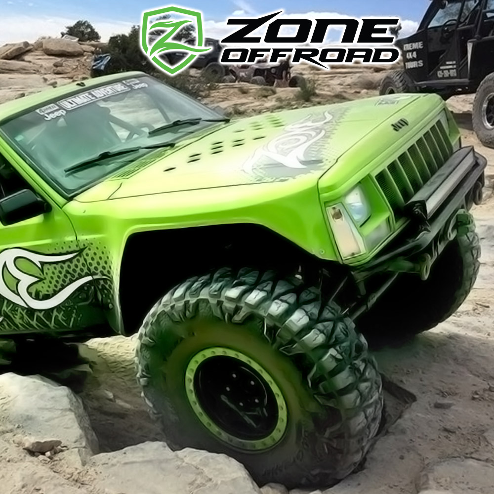 """Jeep TJ Zone Offroad J5303 3-4/"""" Front Sway Bar Links"""
