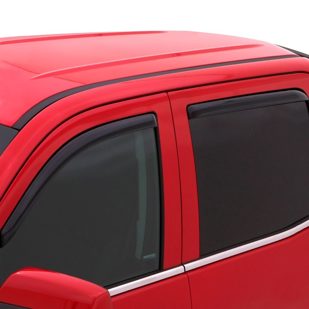 Side Window Vent-Ventvisor Auto Ventshade 194995 R In-Channel Deflector 4 pc