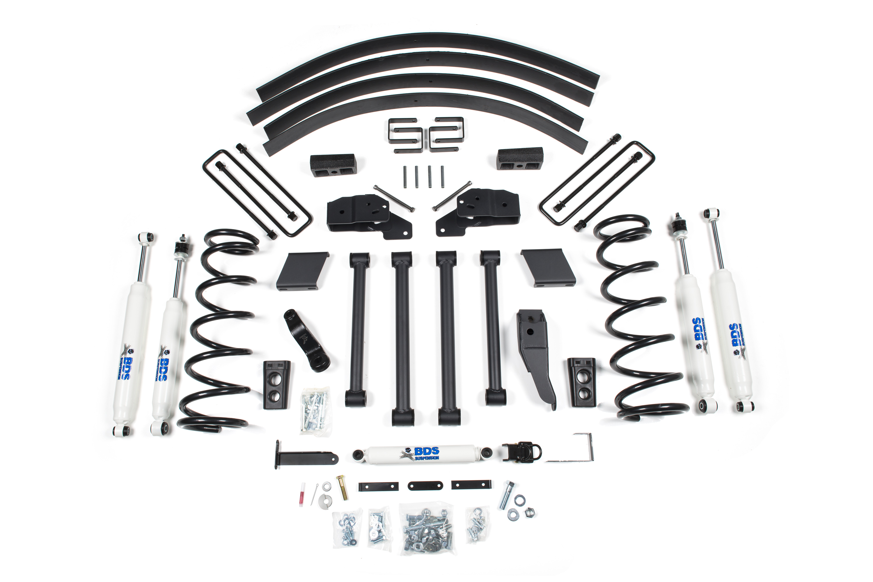 bds suspension 5 u0026quot  lift kit for the 1994 2 ton 4wd pickup