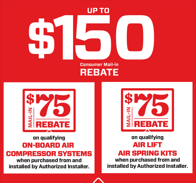 Air Lift Winter Consumer Rebate
