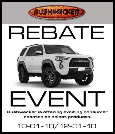 Bushwacker Mail-in Rebate