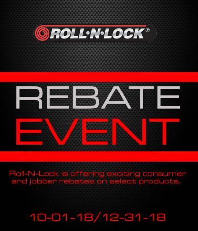 Roll-N-Lock Jobber Rebate Promotion