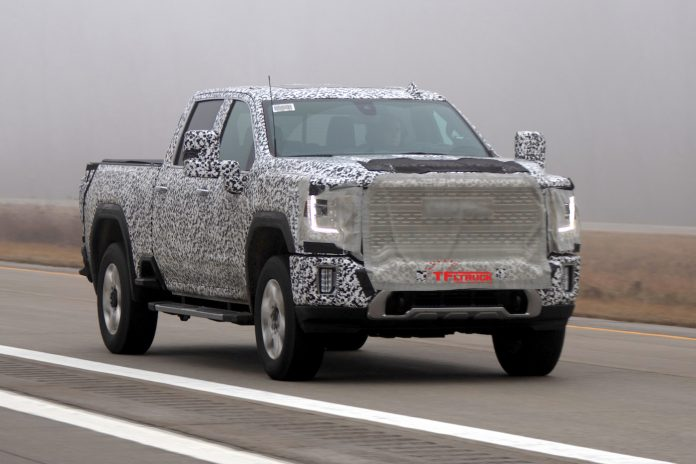 Blog Can The New 2020 Gmc Sierra Hd Be A Denali And At4 Off Road